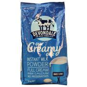 Sữa Tươi Dạng Bột Nguyên Kem Devondale Our Creamy One túi 1kg