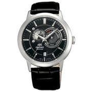 Đồng hồ Orient nam dây da chính hãng FET0P003B0 (Đen)