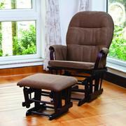 Ghế gỗ lắc thư giãn màu nâu