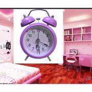 Đồng hồ báo thức hiệu Mini alarm Good Korea ( Tím )
