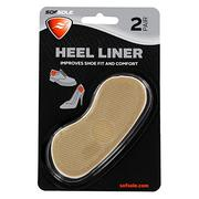 Sof Sole Heel Liner Cushions for Improved Shoe Fit and Comfort, 2 Pair