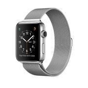 Apple Watch SERIE 2 (42mm) Stainless Steel Case with Milanese Loop DEMO