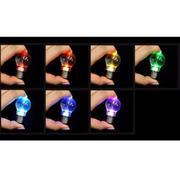 Bóng đèn trang trí móc khóa 7 màu không vỡ, không cần nguồn điện -QT