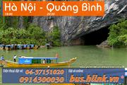 Vé xe khách chất lượng cao chuyên tuyến Hà Nội - Quảng Bình