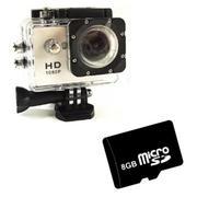 Bộ 1 Camera hành trình Sports cho deal 24h (Vàng) và 1 thẻ nhớ SD 32GB