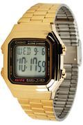Đồng hồ dây thép không gỉ Casio A178WGA-1ADF (Vàng)