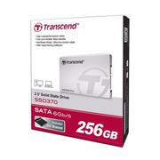 Ổ cứng SSD Transcend SSD 370S 256Gb, SATA 3 - 6Gb/s - Hàng nhập khẩu(Silver 256GB)