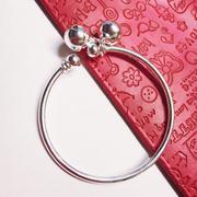 Lắc tay tròn bạc 925 Pinky Accessories LPT5