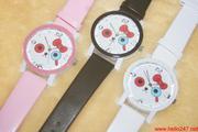 Đồng hồ kitty nơ phong cách đáng iu DHNU3