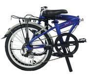 Xe đạp gấp Dahon S.U.V D6 2016 (Blue Suede)