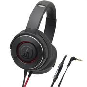 Tai nghe Over ear Audio-technica ATH-WS550iS (Đen phối đỏ)