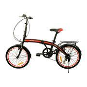 Xe đạp gấp Fury Fornix FB2007 (Đen đỏ)