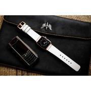 Dây đồng hồ da thật Handmade cho Apple Watch ( 38mm và 42mm ) – Mẫu BF93D91