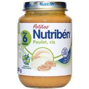 Dinh dưỡng đóng lọ cơm gà Nutriben 200g