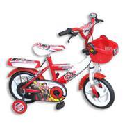 Xe đạp trẻ em 2 bánh K.5 hai màu đỏ trắng M876, cho trẻ từ 2~4 tuổi
