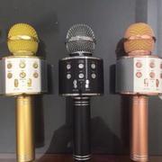 Micro hát karaoke Bluetooth 3in1 kèm loa WS-858