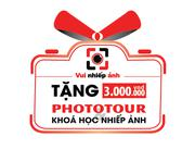 Tặng Phototour trị giá 3,000,000 đ