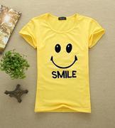 áo thun nữ mặt cười smile