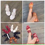 Giày sandal hở mũi quai ngang phong cách sành điệu SD17