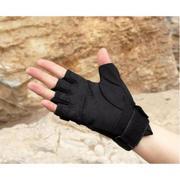 Găng tay chiến thuật cụt ngón Black ke (Đen) L