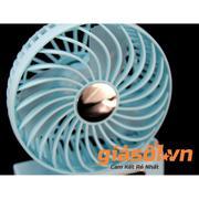 Quạt tích điện mini Fan 808B (Xanh dương)