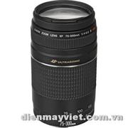 Canon EF 75-300mm f/4.0-5.6 III USM Autofocus Lens USA     Mfr# 6472A002
