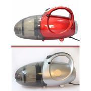 Máy hút và thổi bụi 2 chiều cầm tay nhiều tiện ích Vacuum Cleaner JK-8 (Đỏ) + tặng kèm móc khóa huýt...