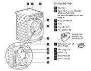 Máy Giặt Electrolux EWF14113S 11 Kg, Lồng Ngang (Xám bạc)