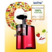 Máy ép hoa quả chế độ chậm SAVTM - thiết kế mới - hàng nhập khẩu ( đỏ
