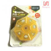 Hộp đựng thuốc 8 ô Pill Case DM1081 - Vàng