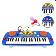 Đàn Organ kèm Micro cho bé yêu (Xanh)