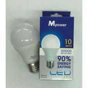 Bộ 5 Bóng Đèn LED Mpower tiết kiệm 90% điện - Bóng LED Bulb 5W-120-230W (Trắng)