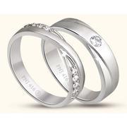Nhẫn cưới ECZ Vàng 10K