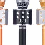 Micro hát karaoke Bluetooth 3in1 kèm loa WS-858 Cao Cấp DMA store