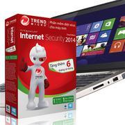 Phần mềm diệt Virus Trend Micro tặng phiếu cào trúng thưởng