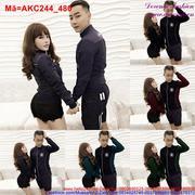 Áo khoác kaki cặp tình nhân hình ngôi sao sành điệu AKC244 (bb)