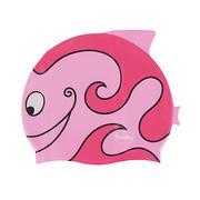 Nón bơi trẻ em hình cá Fashy 3048