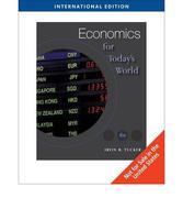 Economics for Today's World