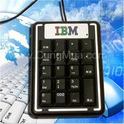 Bàn phím số máy tính IBM nhỏ, tiện dụng
