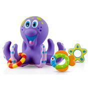 Bộ đồ chơi bạch tuộc nhựa đáng yêu cho bé hiệu Nuby - NK Mỹ