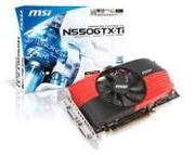 MSI GeForce GTX 550 Ti - 1024 MB GDDR5 192 bits