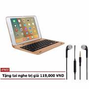 iPad mini 1 2 3 Bàn phím ốp lưng LED Bluetooth Keyboard Tặng tai nghe