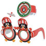 Kính 3D đồng hồ con quay tròn - Chim cánh cụt KIBU MD4