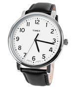 Đồng hồ nam dây da TIMEX T2N338 - Đen