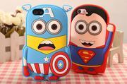 Ốp dẻo Iphone4S/5S Superman