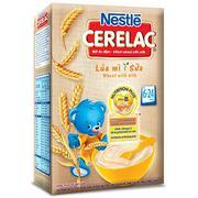 Bột Ăn Dặm Nestle Cerelac - Lúa Mì Và Sữa (200g)