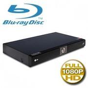 LG BD370 Network Blu-ray Disc Player - Full 1080p, HDMI, USB, Ethernet Port, Netflix Enabled, You Tu...