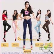 Hàng NhậP - QuầN Kaki Jeans Nữ Co Giãn Không Phai Glq019
