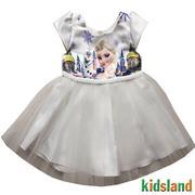 Đầm voan trắng nữ hoàng băng giá ELSA AD212