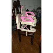 Ghế ngồi ăn dặm Mastela nâng hạ độ cao: Nhựa sắt kết hợp 07110 (xám-trắng) // 07112 (hồng-trắng) - T...